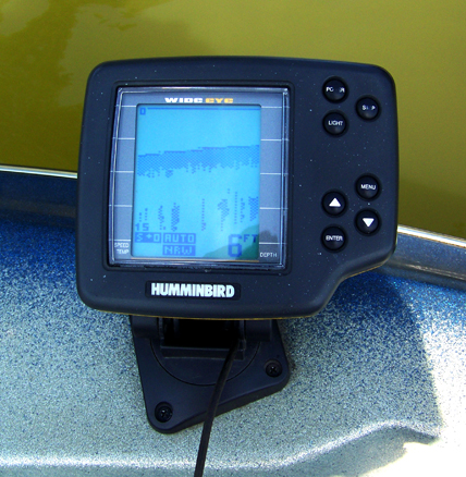fixing a fishfinder transducer | fichigan, Fish Finder