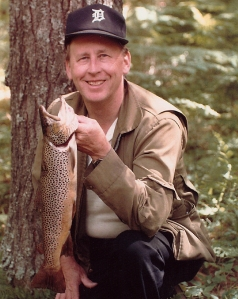 Uncle Boyce with brown trout