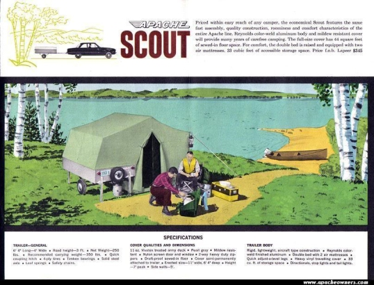 1961 Apache Scout Ad