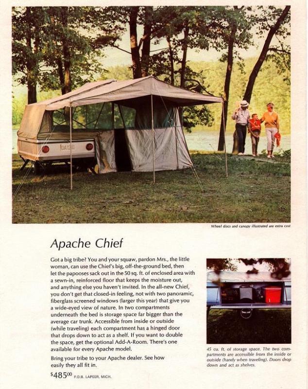 1966 Apache Chief Camper   Fichigan