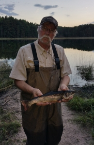 Denny with a nice Brook Trout